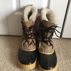 Sorel Manitou Leather Waterproof Insulated Boots